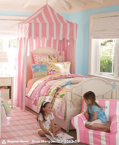 Girls' Key West Bedroom