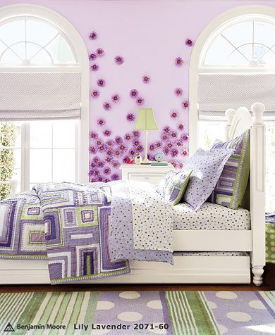 Lavender Katie Bedroom