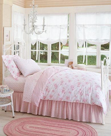Pink French Rose Bedroom
