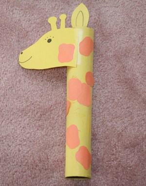 giraffe-craft
