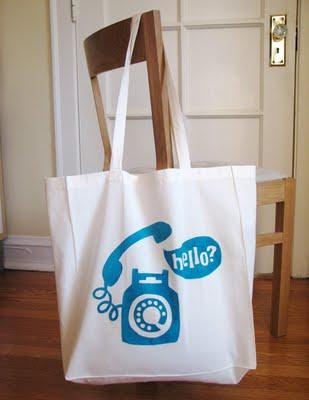 stenciled-bag