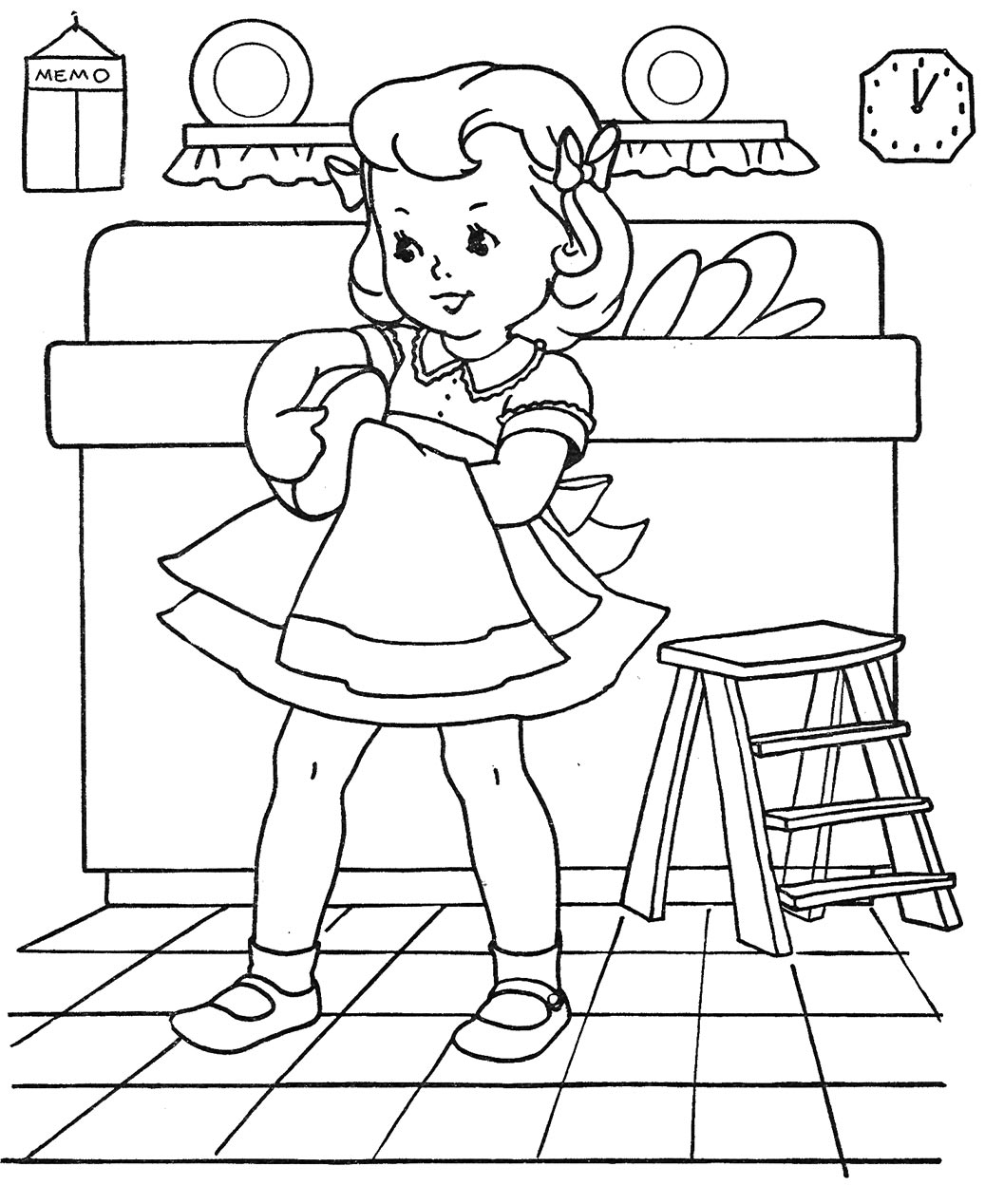 cassic art coloring pages - photo#10